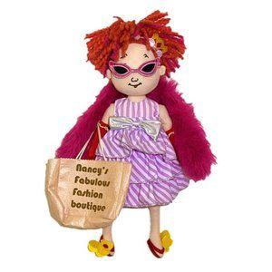 "Alexander Dolls 18"" Fancy Nancy Cloth Doll NWOT"